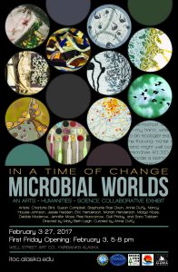 ITOC: Microbial Worlds Fairbanks Exhibition Poster